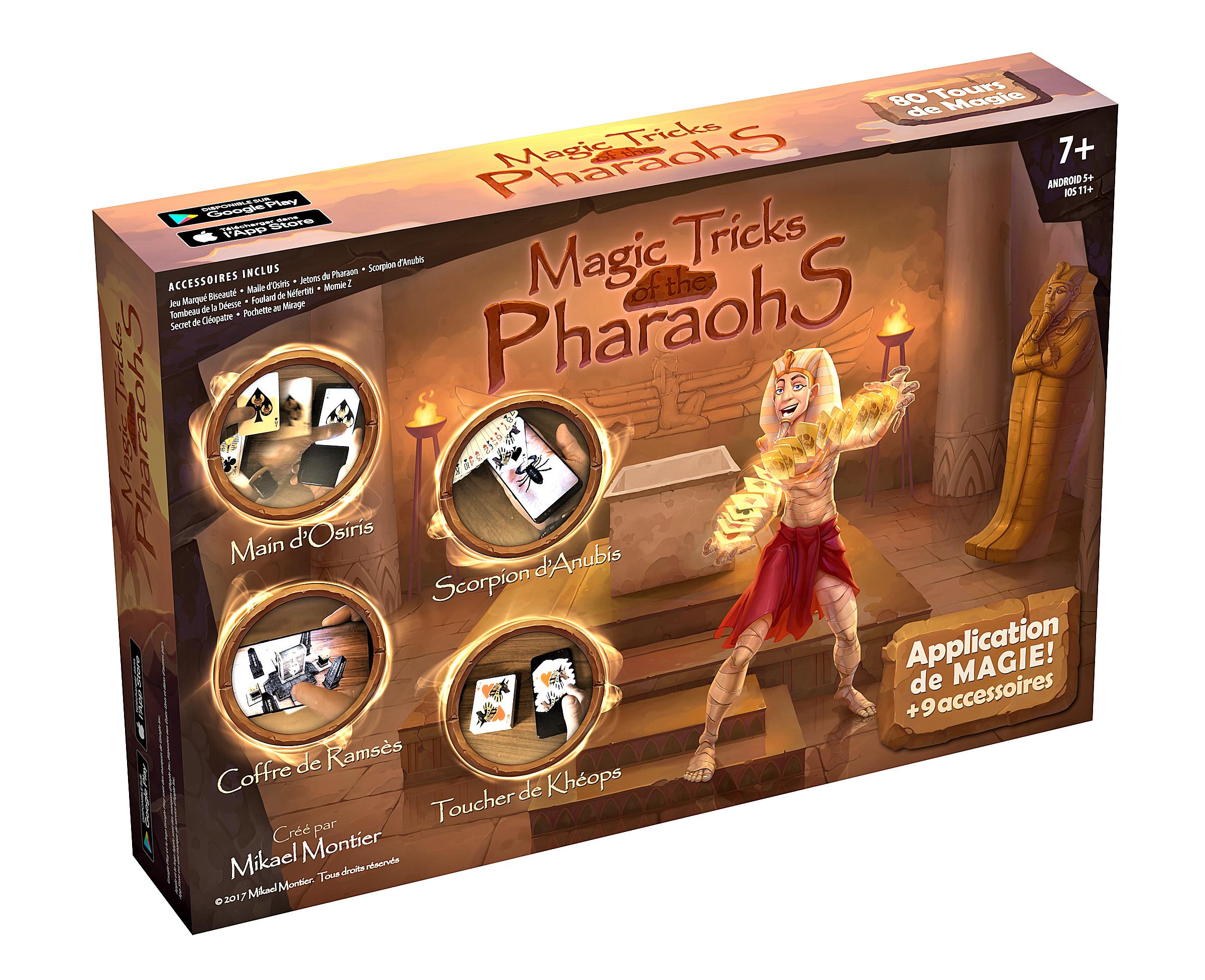 Magic Tricks of the Pharaohs (80 Magic Tricks)